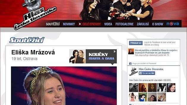 Další talent z Ostravy, zpěvačka Eliška Mrázová, boduje v televizní pěvecké soutěži. Bude z ní Hlas Česko Slovenska?