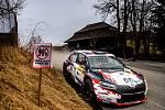 KOWAX Valašská Rally ValMez 2021. RZ Bystřička. 28. března 2021. Adolf Robert - Novák Petr.