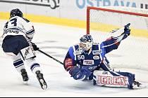 Utkání 5. kola hokejové extraligy: HC Vítkovice Ridera - HC Kometa Group.