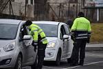 Jedno z policejních stanovišť se nacházelo v Děhylově na Opavsku na rozmezí Opavska a Ostravska. Hlídky kontrolovaly vozidla v obou směrech.