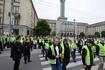 Stávka řidičů DPO pokračuje druhým dnem i ve čtvrtek.