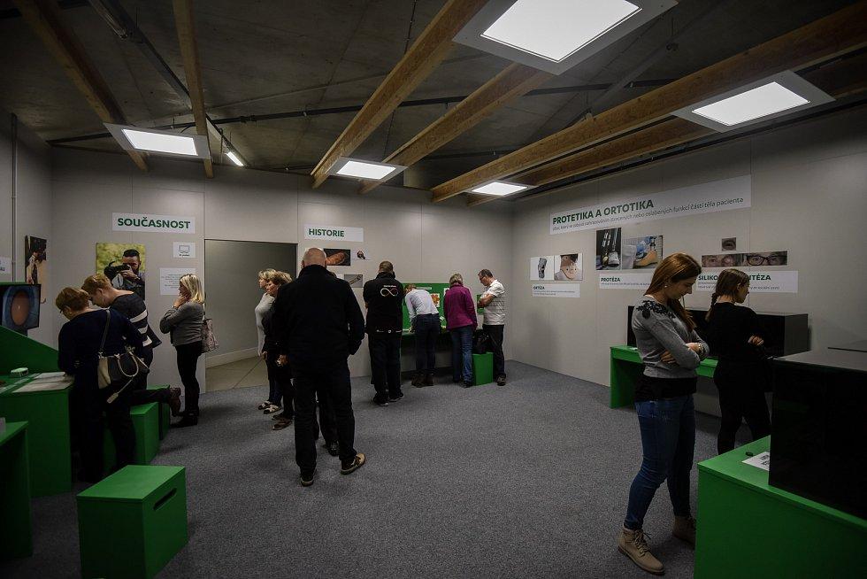 Výstava Tělo a technika - jak technika pomáhá handicapovaným začala 12. prosince 2018 ve Světě techniky v ostravských Dolních Vítkovicích.