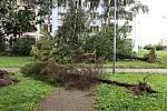 Následky bouře v Ostravě 26. srpna 2019