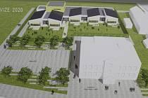 Prvními kroky k novému centru Hrabové budou mateřská škola a kulturní dům, v další fázi by se mělo upravit i okolí mezi úřadem a hřbitovem.