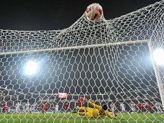 Přátelské utkání Česká republika - Srbsko 13. listopadu 2015 v Ostravě.