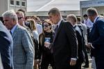 Dny NATO 2018 v Ostravě. Na snímku premiér Andrej Babiš.