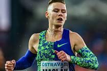Atletický mítink IAAF World Challenge Zlatá tretra v Ostravě 20. června 2019. Na snímku Pavel Maslák z (CZE).