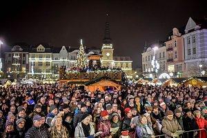 Akce Česko zpívá koledy 2018 v Ostravě