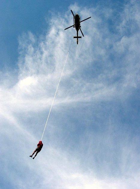 Ilustrační foto ze zásahu ostravských záchranářů v Jeseníkách