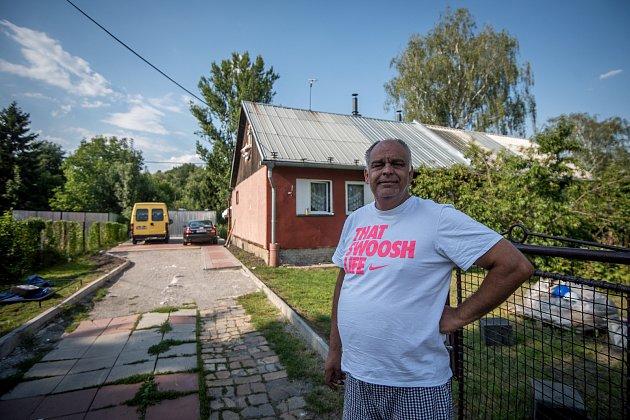 Bedřiška, 5. červenec 2018 v Ostravě. Na snímku pan Antonín Baláž.