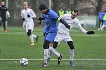 Baník Ostrava U21 vs. MFK Vítkovice, 14. ledna 2018 v Ostravě.