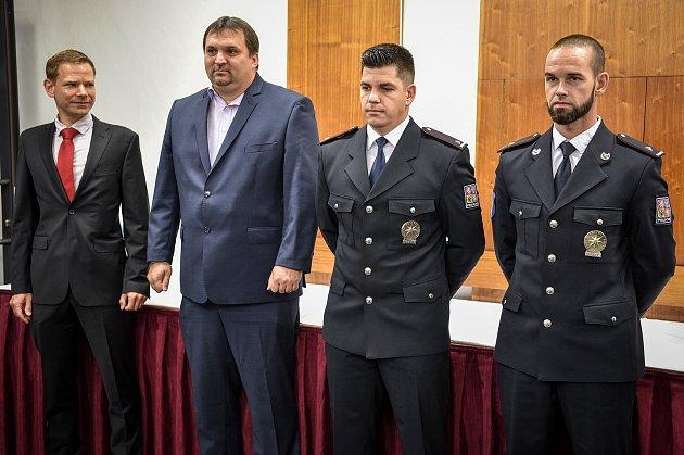 Policista zasažený vBeskydech bleskem poděkoval vOstravě svým zachráncům, pondělí 24.srpna 2020.