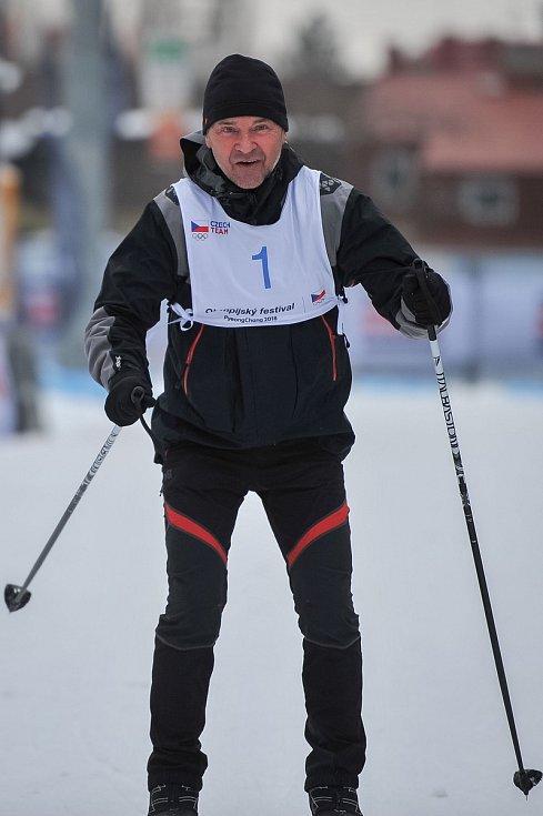 Olympijský festival u Ostravar Arény, 18. února 2018 v Ostravě. Leopold Sulovský.