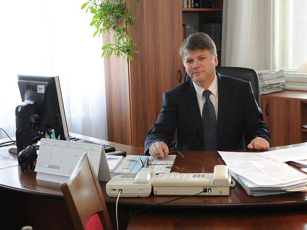 Předseda Krajského soudu v Ostravě Jiří Doležílek.
