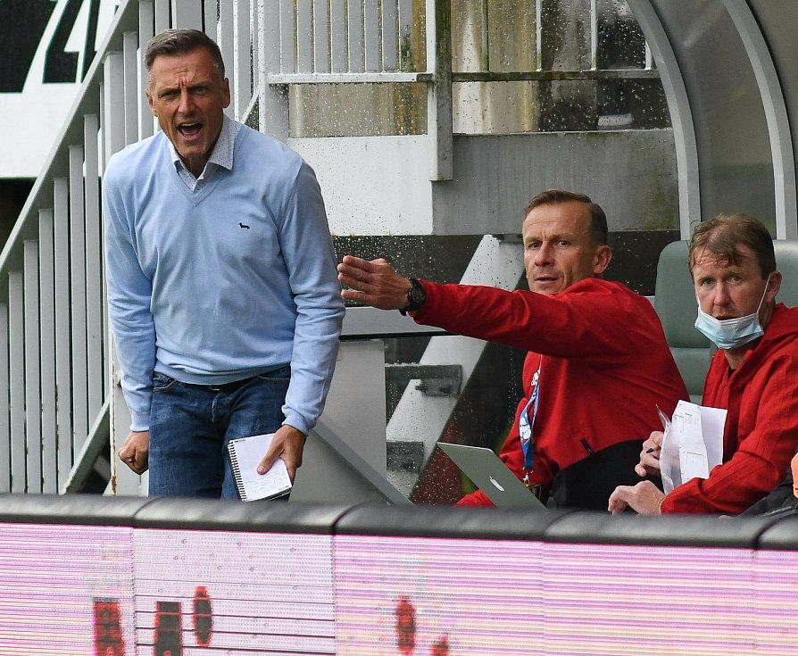 Luboš Kozel, trenér fotbalistů prvoligového klubu FC Baník Ostrava.
