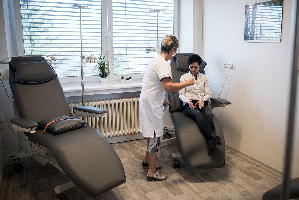 Snímek z otevření centra pro diagnostiku a léčbu demyelinizačních onemocnění ve Fakultní nemocnici Ostrava, 18. února 2019 v Ostravě.