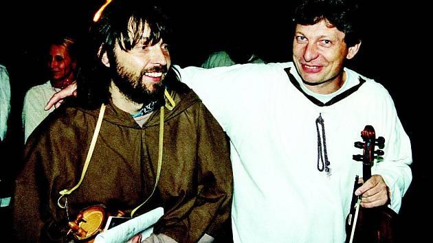 Pavel Helebrand a Jiří Pavlica