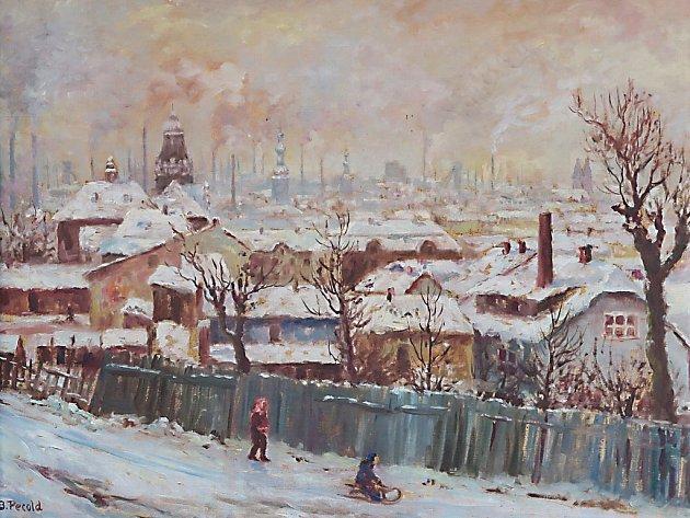 BOHUMÍR PECOLD: Zimní Ostrava.