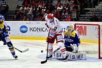 Hokejisté Třince podlehli Zlínu v poměru 1:2.