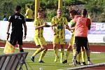Sport fotbal FNL FK Varnsdorf vs. MFK Vítkovice