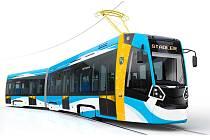 Nové tramvaje budou vizuálně přizpůsobeny potřebám ostravského vozového parku.
