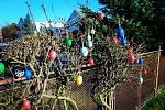 Výzvy Velikonoce - dekorace plotu Evy Procházkové