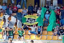 Utkání druhé fotbalové ligy FK Baník Sokolov – FC Vítkovice 1:0