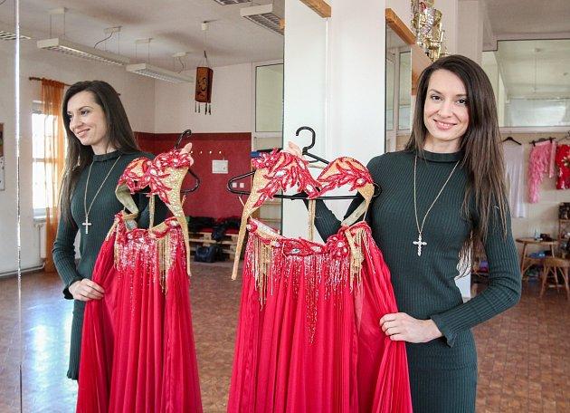 Ostravská profesionální orientální tanečnice Latifah.