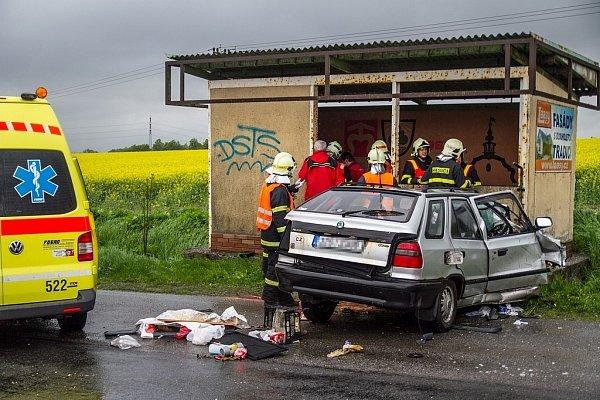 Tragická dopravní nehoda na silnici 47uobce Bravantice na Novojičínsku.