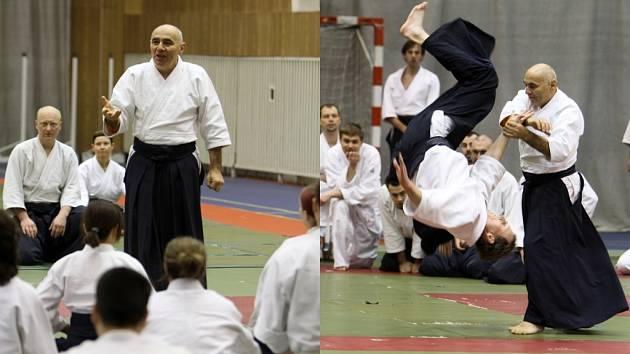 Mistr Michele Quaranta bude slavit společně s ostravským oddílem aikida.