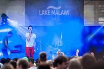 Skupina Lake Malawi a její frontman Albert Černý.