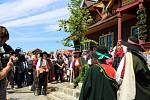 SLAVNOSTNÍ otevření jídelny Libušín na Pustevnách v Beskydech proběhlo ve čtvrtek 30. července 2020.