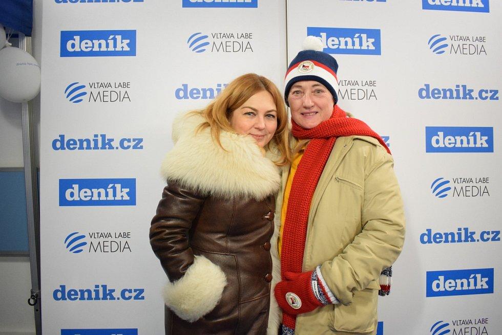 Fotokoutek Deníku, areál Olympijského festivalu v Ostravě, 11. února 2018