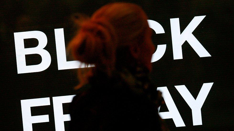 Black friday v Ostravě. Ilustrační foto.