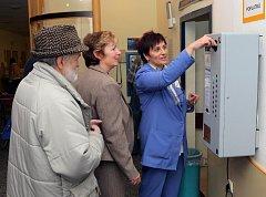 Automat na vybírání poplatků v ostravské fakultní nemocnici