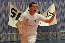 Michal Seidler právě vstřelil vyrovnávací gól do sítě Balticflory Teplice. Běžela poslední minuta utkání a mladému futsalovému reprezentantovi se podařilo prolomit střeleckou smůlu.
