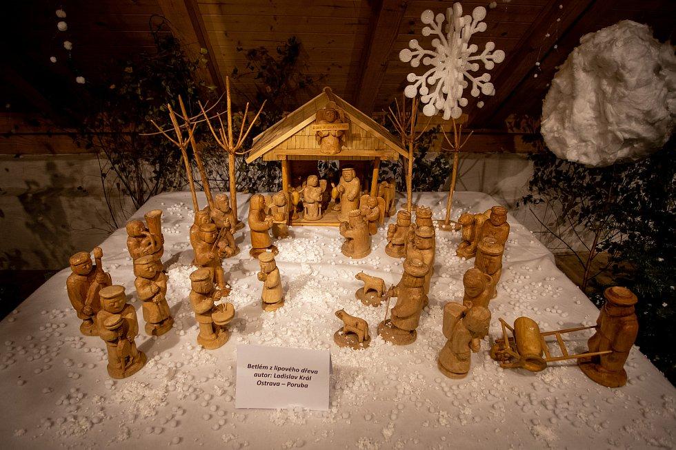 Výstava betlémů na Slezskoostravském hradě, 27. prosince 2019 v Ostravě.