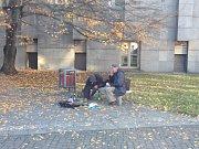 Výstaviště bezdomovci neopustili.