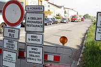Uzávěra Cihlní ulice v centru Ostravy vytváří v dopravě kolapsové situace