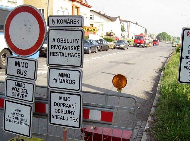 Oprava Frýdlanstských mostů v Ostravě