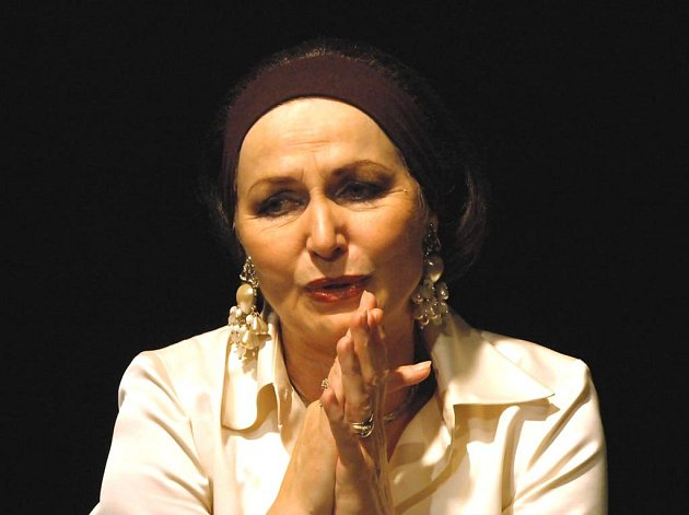 Eliška Balzerová v roli Marie Callasové