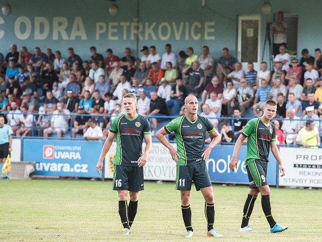 Fotbalisté Petřkovic. Ilustrační foto.