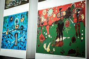 Ukázky z tvorby Eduarda Ovčáčka.