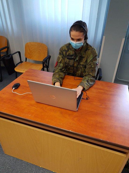 Studenti Univerzity obrany v Brně jsou součástí chytré karantény.