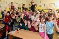 Žáci 3.A Základní školy Zelená v Ostravě