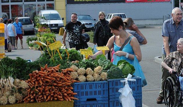 Farmářské trhy v Ostravě-Porubě
