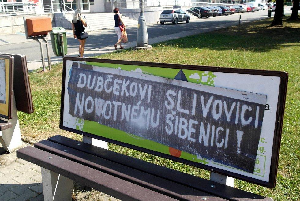 Připomínky srpna 1968 v Ostravě.