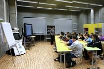 Do Dolní oblasti Vítkovic nyní začínají chodit školáci z celého kraje na výuku vedenou zábavnou interaktivní formou.