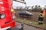 Dopravní nehoda ve Václavovicích.