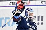 Utkání 41. kola hokejové extraligy: HC Vítkovice Ridera - PSG Berani Zlín, 28. ledna 2020 v Ostravě. Na snímku brankář Vítkovic Miroslav Svoboda.